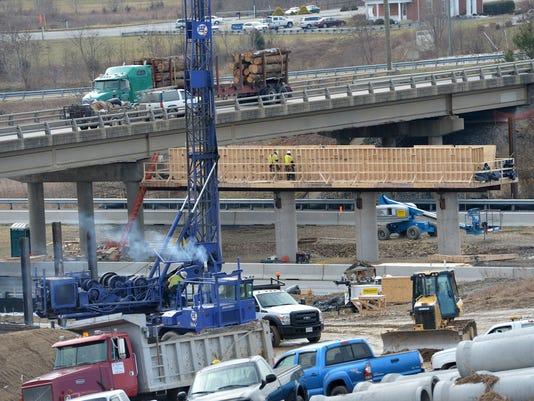 I-64 Exit 91 closures