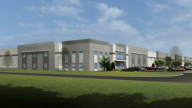 Briohn Building Corp.'s multi-tenant light industrial building is the first planned for an expansion of Westridge Business Park, in New Berlin.