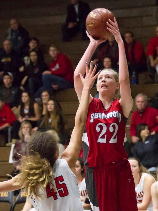 Girls WIAA Sectional Basketball: Wauwatosa East vs Shorewood