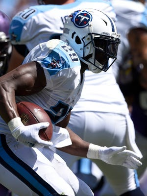 Titans running back DeMarco Murray and the rushing attack were lackluster in last week's loss to the Vikings.
