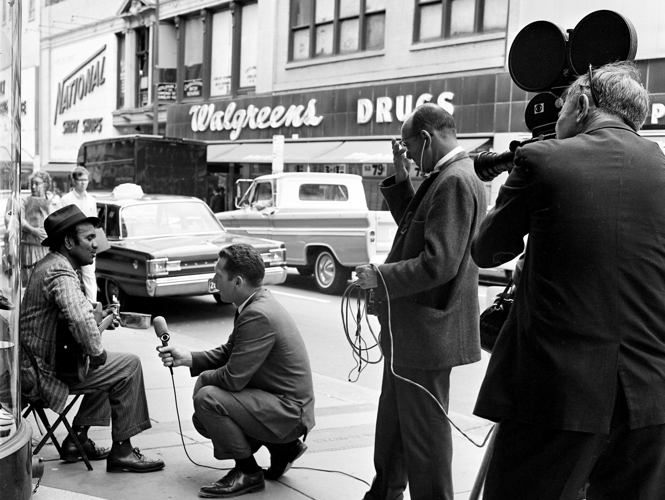 Take a look back at Nashville and music history with a gallery of blues singer Cortelia Clark and 1967 Grammys in Nashville.
