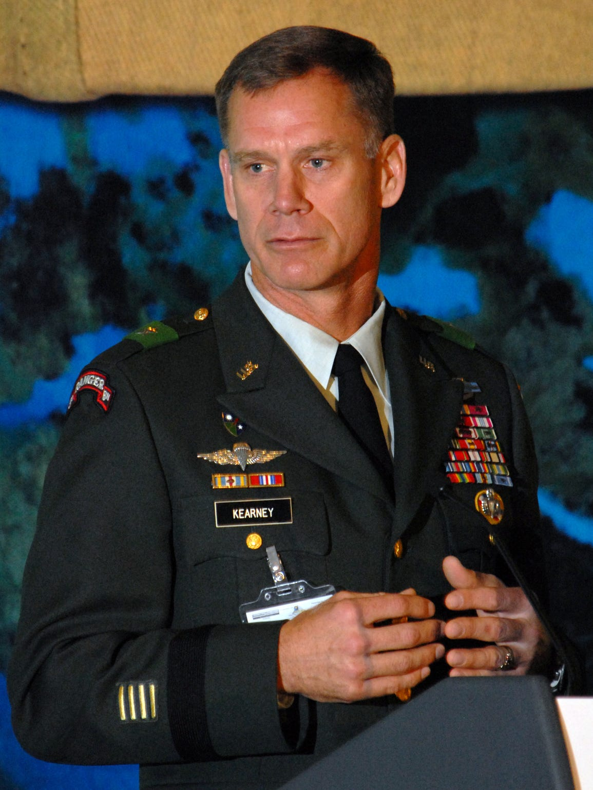 Maj. Gen. Frank Kearney, Commander of Special Operations