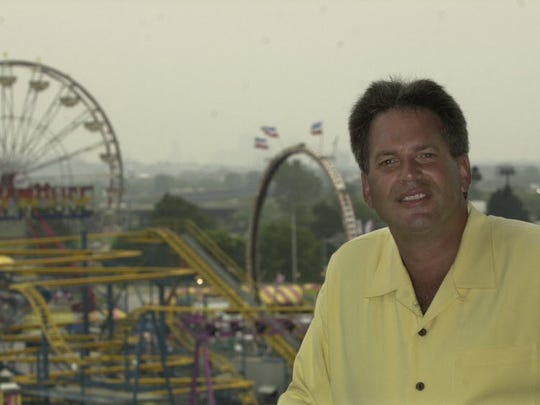 Al Dorso, seen here in 2004, runs the Meadowlands State Fair as well as being a baseball team owner.