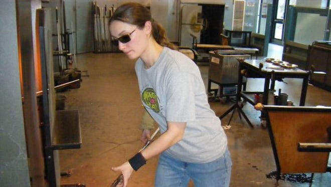 Binghamton native Chrissy Lapham says she was first introduced to the world of glass making when her class and Chenango Forks High School took a field trip to the Corning Museum of Glass.