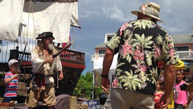 Scenes from Fisherman's Village Pirate Fest in Punta Gorda.