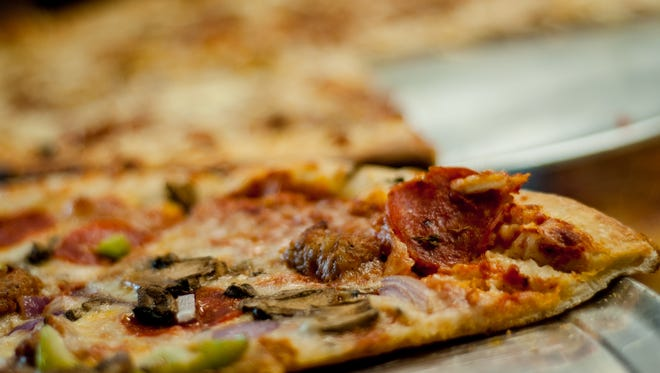 Polito's Pizza has more than 30 types of pizza, but it will be serving up its mac and cheese pizza for the De Pere Foodie Walk on April 29.