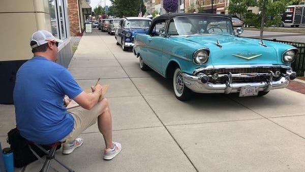 Here's an artistic scene from last year's arts and music festival in Canandaigua. Expect more art and activities this year, as the Celebrate the Arts in Canandaigua event will be Friday and Saturday, July 17 and 18.