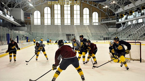 Michigan Regents approved $5.8 million in upgrades for Yost Ice Arena.