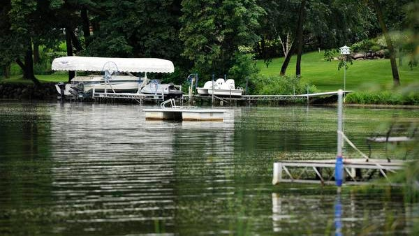 Properties along Big Fish Lake Friday, Aug. 29. The residents of Big Fish Lake have voted against the creation of a lake improvement district.