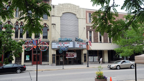 The former Retlaw theater, located on Main Street, is in the process of being purchased.