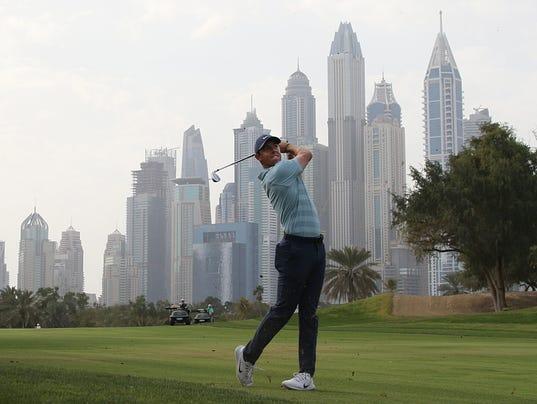 EPA UAE GOLF DUBAI DESERT CLASSIC SPO GOLF ARE