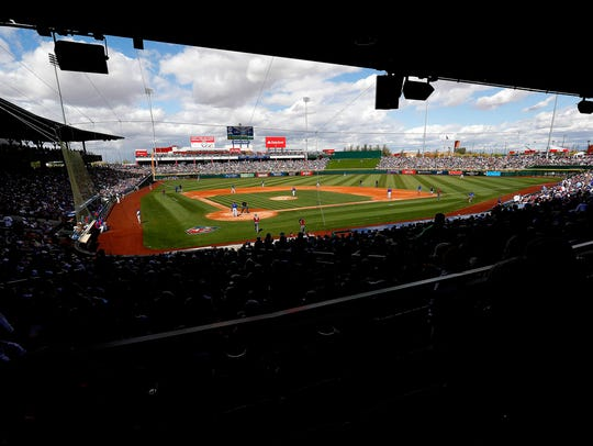 Cactus League crowds fell this year by about 145,000 in