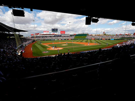 Cactus League crowds fell this year by about 145,000in