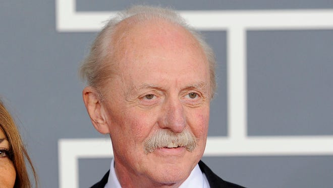 This Feb. 12, 2012 file photo shows Butch Trucks at the 54th annual Grammy Awards in Los Angeles. Trucks, one of the founding members of the Southern rock legends The Allman Brothers, died, Tuesday, Jan. 24, 2017, at his home in West Palm Beach, Fla. He was 69.