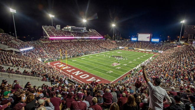 Washington-Grizzly Stadium at the University of Montana.