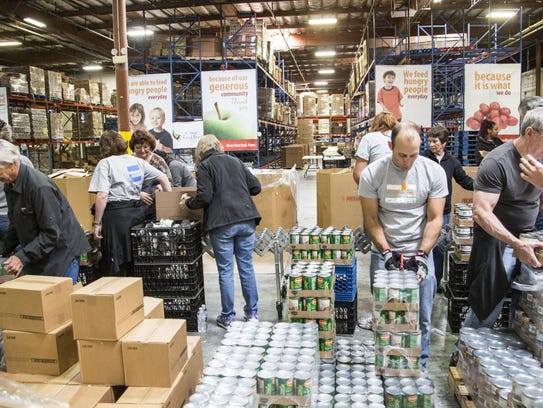 St. Mary's Food Bank is a member of the Maricopa County