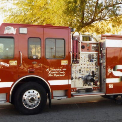 Indio fire truck