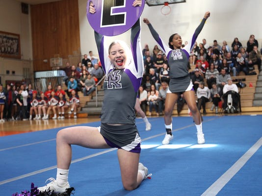 Section 1 Cheerleading Championships - New Rochelle