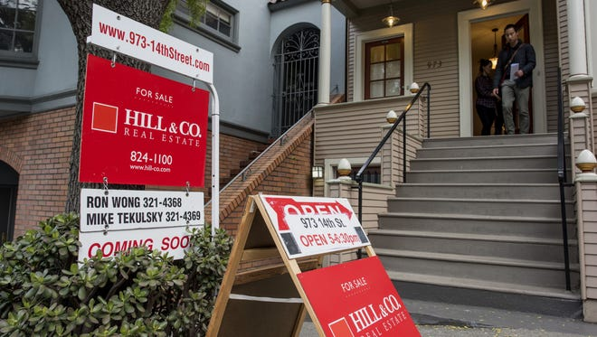 This home was for sale in San Francisco last year. The West has seen a sizable jump in home prices this year.