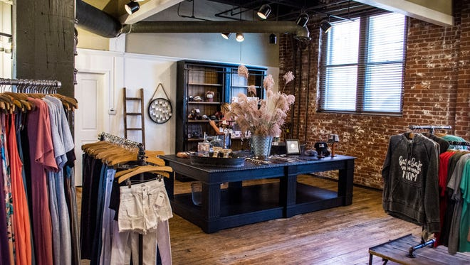 Women's and girls' boutique Luxe Lizzies relocated from downtown Richmond to the Depot District's loft building, 414 N. 10th St., and reopened to the public on Friday, April 27, 2018.
