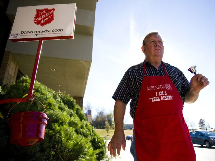 News-Leader File photo The Salvation Army will hold