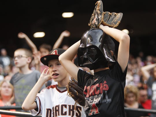 Star Wars night as the Arizona Diamondbacks host Star