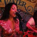 Professional singer Elizabeth Canino of Naples performs at South Street City Oven and Grill on Thursday, June 2, 2016. (Dorothy Edwards/Staff)
