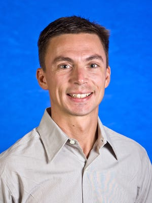 Christopher Berger, exercise physiologist with Arizona State University.