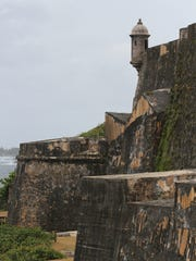 Castillo San Felipe del Morro in Old San Juan is a