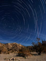 The stars come out to play every night in the Dark Sky community of Borrego Springs.