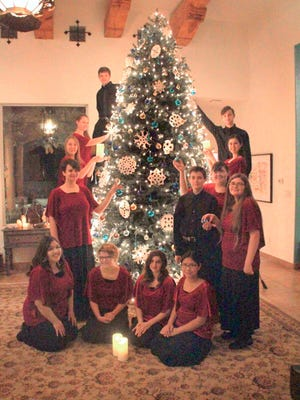 The Mesilla Valley Teen Choir will perform Friday, at 7 p.m. at University Presbyterian Church, 2010 Wisconsin (behind Lorenzo's and Milagro's). A free dessert reception follows the performance.