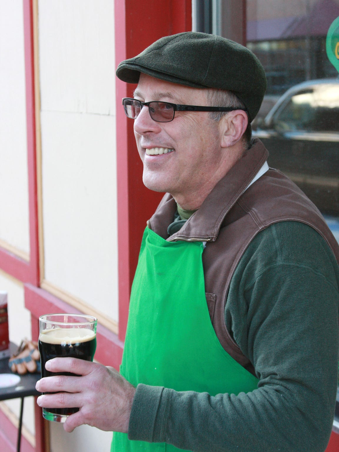 Timothy Suprise, owner of Arcadia Brewing Company,