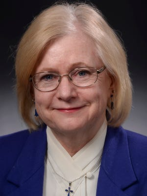 Phyllis Van Buren, Times Writers Group member, photographed Nov. 4, 2015.