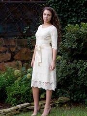 Dainty Jewells' 'Night in Paris' lace dress is popular