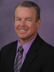 Northwestern State director of athletics Greg Burke