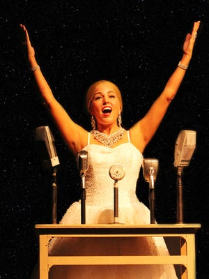 "April Monte stars in Broadway Palm's ""Evita"""