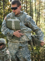U.S. Army Pfc. Alec Wheeler, an Explosive Ordnance
