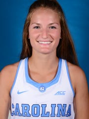 Lauren Moyer, a forward on the University of North Carolina women's field hockey team, led the team with 24 goals this season. She graduated from Central York High School.