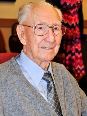 "Goodwin ""Steve"" Adams, 100"