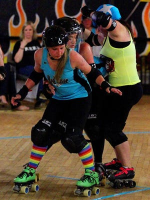 The Red River Roller Derby's season opener is 6 p.m. March 11 at 4490 Old Iowa Park Road.