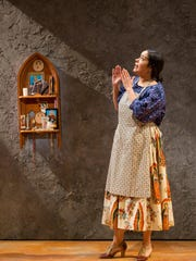 "Keren Lugo as Marta in ""The Women of Padilla"" at Two River Theater."