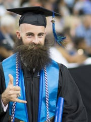 Kyle Bauer was one of more than 1,100 graduates who