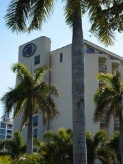 The Hilton Marco Island Beach Resort & Spa was already