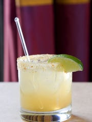 The Ginger Margarita at J&G Steakhouse in Scottsdale.