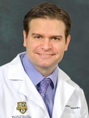 Dr. Gregg Nicandri of the University of Rochester Medical