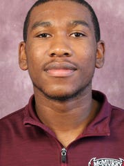 McMurry junior defender Josh Erwin