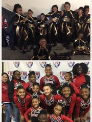 The Fords Bearcats Cheerleading and Dance teamare