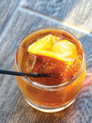 The cocktail craze is alive and well at Trio, including a happily spicy Old Fashioned.