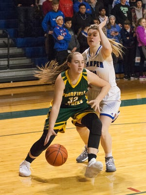 Pennfield's Alicia Lake had a team-high 21 points to help the Panthers stay undefeated with this win over city rival Harper Creek.