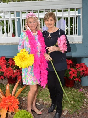Event co-chairs, from left, are Allola McGraw and Carol Dippy.